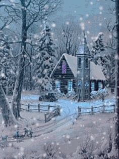 The perfect Christmas Cheer Animated GIF for your conversation. Discover and Share the best GIFs on Tenor. Christmas Scenes, Christmas Pictures, Christmas Art, Beautiful Christmas, Winter Christmas, Vintage Christmas, Winter Szenen, Winter Magic, Winter Time