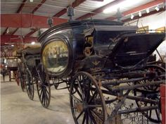 Horse Drawn Hearse- Funeral Carriage