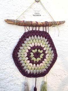 patrón Atrapasueños crochet