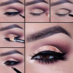 Soft and Romantic Eye Makeup is What You Need for a Date picture 1