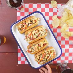 Recipe of the Day: Buttery Lobster Rolls No New England getaway booked? No problem! Lobster rolls don't have to be only a vacation luxury. With this easy recipe, you can enjoy that buttery seafood in the comfort of your own home in just 40 minutes.