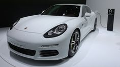 Making its debut at the Shanghai Auto Show, Porsche's new Panamera S E-Hybrid stood front and center among its Panamera siblings: a now nine-strong lineup, refreshed for 2014.