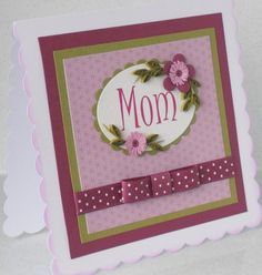 cricut made mothers day cards - Google Search