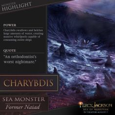 Percy Jackson: Sea Of Monsters Overloaded With Infographics ~ Kernel's Corner