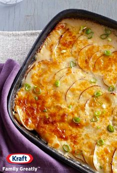Scalloped Potatoes Recipe - Amp up the cheese factor this Easter with this Scalloped Potatoes Recipe. Bring together melty PHILLY Cheese and grated Parm in this creamy, cheesy dish perfect for Easter brunch or served with your Easter dinner.