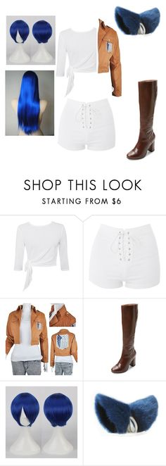 """My Attack On Titan OC"" by mistic-flame ❤ liked on Polyvore featuring Topshop and Seychelles"