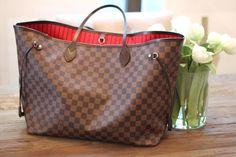 Louis Vuitton Neverfull GM Bag + Organizer