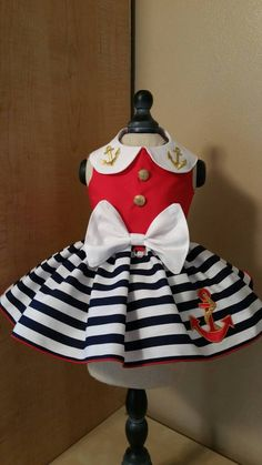 Sail Away Dog Dress by digginitdesigns on Etsy