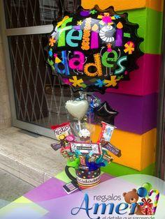 felicidades, #envio a casa www.regalosamer.com.mx