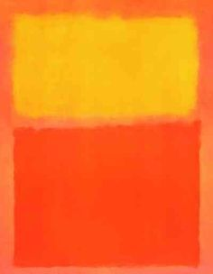 March Mark Rothko was a Latvian born, American artist who became famous for his color field, abstract expressionist paintings. Mark Rothko Paintings, Rothko Art, Famous Abstract Artists, Abstract Painters, Action Painting, Nam June Paik, Orange Art, Orange Yellow, Colour Field