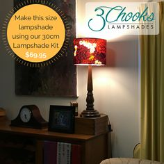 Learn how to make lampshades with this fun and easy kit. Available in a range of sizes - create table lamps, bedside lamps, hanging pendants. Lampshade Kits, Make A Lampshade, Lampshades, Hanging Pendants, Bedside Lamp, Drum, Table Lamp, How To Make, Home Decor