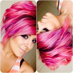 I miss my pink!! I will be doing this before summer!