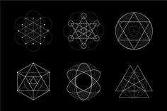 Sacred Geometry BUNDLE: 60 Items - Illustrations