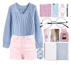 """""""Untitled #107"""" by biinabnab ❤ liked on Polyvore featuring Chicwish, Boohoo, Casetify, ban.do, Laruze and S'well"""