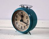 French Blue Clock
