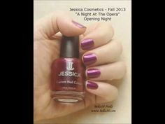 "Bella10 Nails - http://bella10.blogspot.com/ Jessica Cosmetics Fall 2013 ""A Night at the Opera"" Collection"