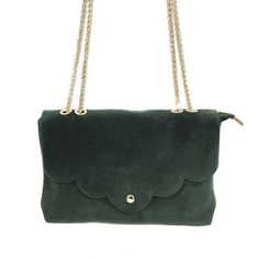 Chanel, Shoulder Bag, Classic, Bags, Purse, Green Suede, Objects, Handbags, Dime Bags