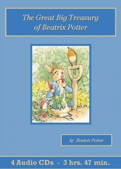 The Great Big Treasury of Beatrix Potter contains  nineteen tales featuring a troop of Miss Potter's most unforgettable characters. Peter Rabbit, the mischievous and rebellious young fellow, is the hero of many a tale, along with his more well-mannered sisters Flopsy, Mopsy and Cotton-tail. Their long-suffering mother strives to keep Peter out of mischief and out of Mr. McGregor's tempting garden filled with luscious fruits and vegetables. The stories sparkle with Beatrix Potter's endearing…