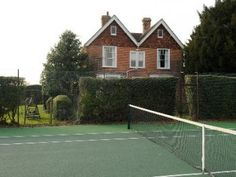 East Sussex private tennis court    Luxury Houses (United Kingdom) Luxury Houses, East Sussex, United Kingdom, Tennis, Around The Worlds, The Unit, Beautiful, Luxurious Homes, Mansion