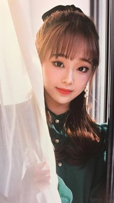 Loona Memes — Album scans from Chuu's heart attack ❤️❤️ South Korean Girls, Korean Girl Groups, Chuu Loona, Olivia Hye, 1 Girl, Sooyoung, Clear Skin, Kpop Girls, Female Models