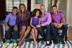 Dr. Brian and Tara Lewis and family are the first interracial Christian family brand in television history!
