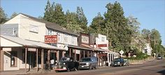 Julian, CA - Gold mining town known for its apple pie.