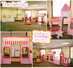 "Love the idea of the ""shops"" -- definitely need to do this with the candy theme"