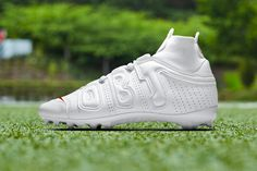 93bed8909 Nike Vapor Untouchable Pro 3 OBJ Uptempo Cleat Odell Beckham Jr. football  grid iron sports