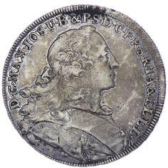 Bayern, Maximilian III. Joseph 1745 - 1777 Madonnentaler 1756 Silber