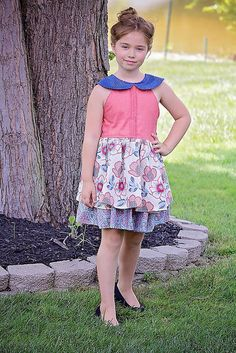 The Seraphina Dress & Tunic PDF Sewing Pattern by HoneydewKisses