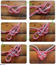 Heart knot! DIY