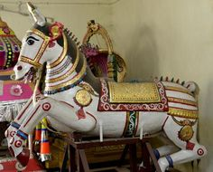 "With a rich historical background: ""A wooden white horse donated by a British engineer to the Lord Ranganatha temple in Karamadai, near Coimbatore. The Utsava deity takes the street processions on this white horse""! Read more here: http://www.thehindu.com/features/friday-review/history-and-culture/with-rich-historical-background/article4676813.ece"