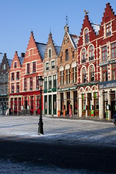 I really wish I could afford to move to another country. A nice one, preferably. ;)    Bruges, Belgium