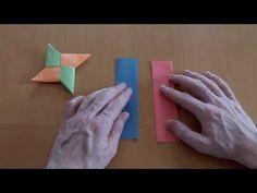 Anleitung: Wie falte ich einen Wurfstern? - YouTube