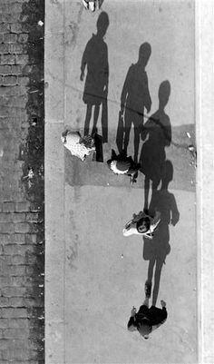 """mimbeau: """" Shadows Paris 1931 André Kertész """" """""""