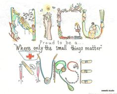 Proud Nurse Personalized 11 x8.5 Print by sweetb on Etsy