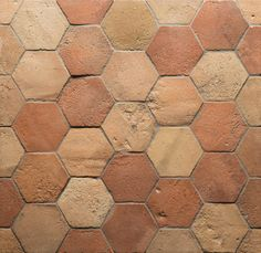 Terracotta Tile Floors - Do Not Rip . Bathroom Floor Tiles, Tile Floor, Bathroom Light Bar, Spanish Tile, Spanish Colonial, Terracotta Floor, Kitchen Flooring, Wood Flooring, Kitchen Tiles