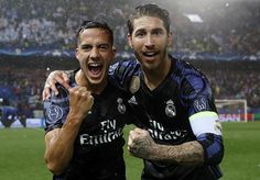 Lucas Vazquez, Sergio Ramos. Real Madrid