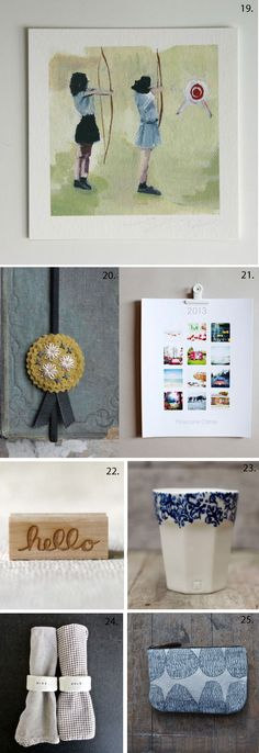 Poppytalk curates gifts under $25 for the Etsy Blog. This collage is inspired by best friends.