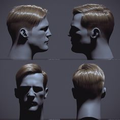 Hair by Ilya Rafienkov | Realistic | 3D | CGSociety