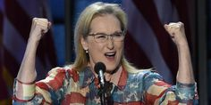 Meryl Streep Delivers Speech Full Of 'Grit And Grace' For Hillary Clinton