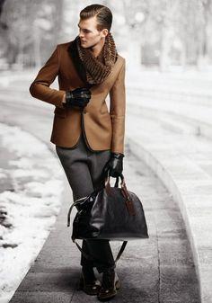"hespiration: ""Emporio Armani Fall Winter 2013 from HEspiration.com — MORE » FASHION / GUYS / GIRLS / CARS — WEBSITE / PINTEREST / TWITTER / FACEBOOK / INSTAGRAM / TUMBLR """
