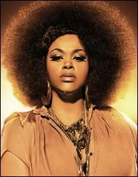 "Jill Scott with the ""Halo"" Afro"