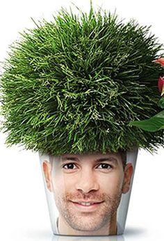 zet eens een plant op je hoofd