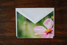 Individual photo card Sweetly Pink by monikarae on Etsy, $4.50