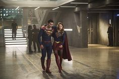 "The CW has released 21 photos from the 2-part premiere of Season 2 of ""Supergirl"". The photos show Superman (Tyler Hoechlin) alongside his cousin Kara (Melissa Benoist), confronting Han…"