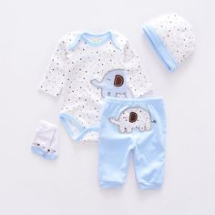 Baby Clothing Sets cotton boy clothes suit Newborn baby girl suit long sleeve infant bodysuits+pants+socks+cap - Boy's Clothes - [post_tags Baby Outfits, Kids Outfits, Baby Kleidung Set, Baby Girl Pants, Baby Boy Fashion, Cute Baby Clothes, Baby Girl Newborn, Baby Baby, Baby Bodysuit