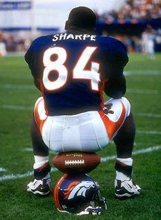 The GREAT Shannon Sharpe Denver Broncos Players 7aeb60bd7