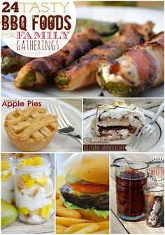 24 Tasty BBQ Foods for Family Gatherings