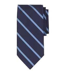 BB#3 Repp Tie Navy-Light Blue